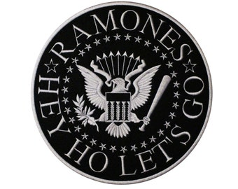 Ramones Armband Logo Embroidered Patch  Iron On Applique