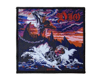 bd1ce36b7b2 DIO Sew On Patch - Holy Diver Murray Battle Jacket Patch Woven  79