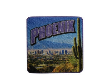 """City Of Phoenix Arizona High-Quality Embroidered Patch 3/"""""""