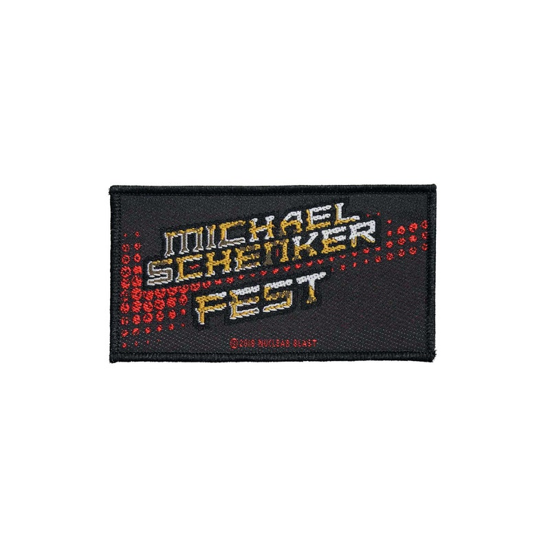 Michael Schenker Fest Woven Sew On Battle Jacket Patch Officially Licensed