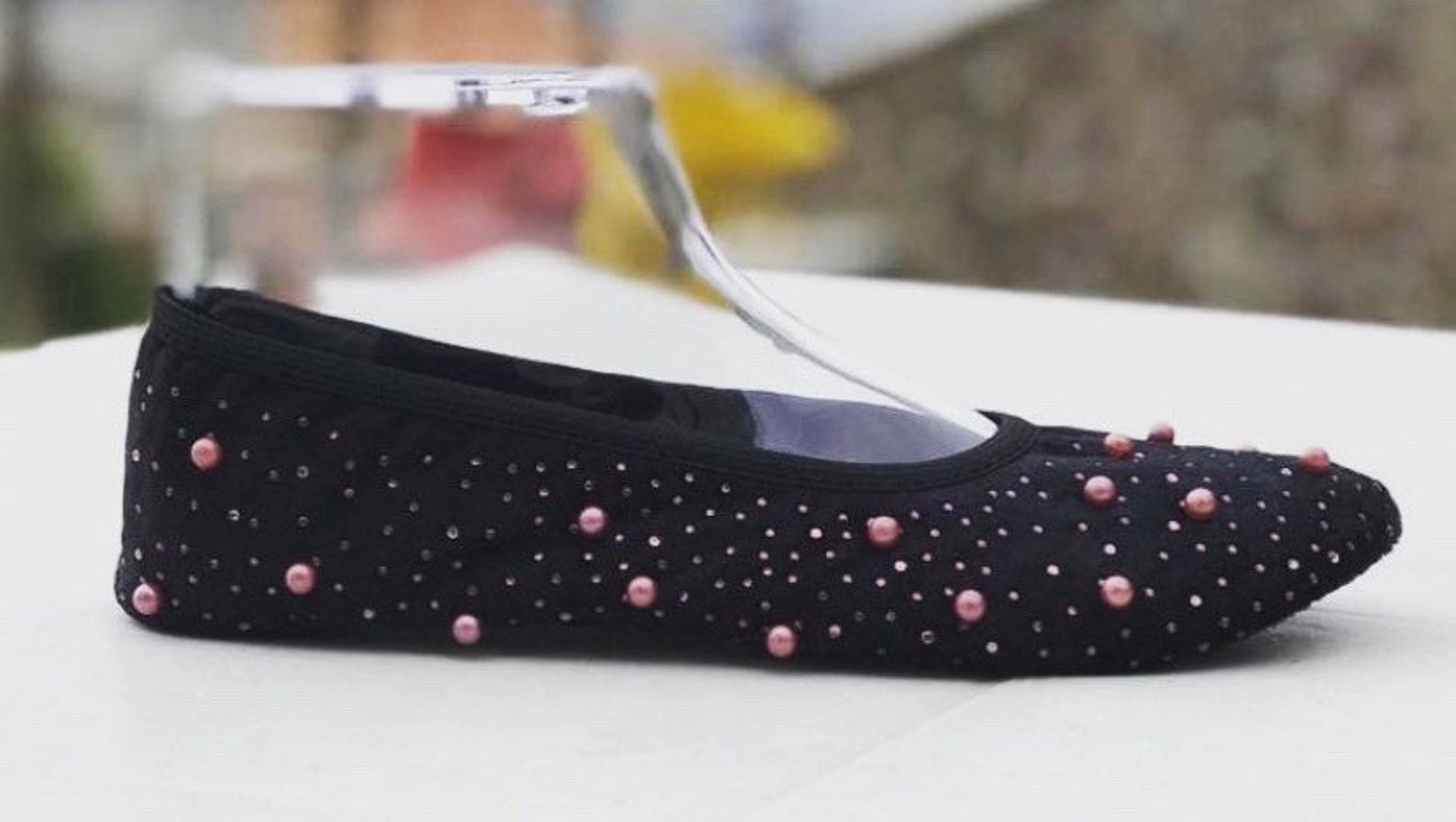 handmade elegant flats ballet shoes slip ons indoor house shoes