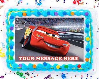 Cars Cake Topper Etsy