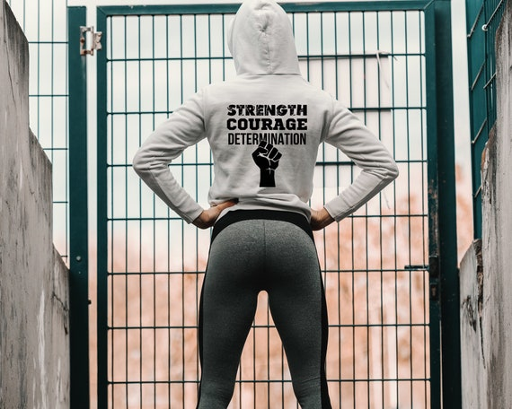 Details about  /Hope Strength Courage Hoodie