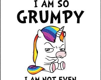 Unicorn Face Decal Etsy