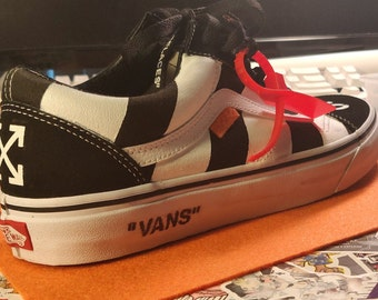 1d4b03ed7fe Off-White Vans (Custom)
