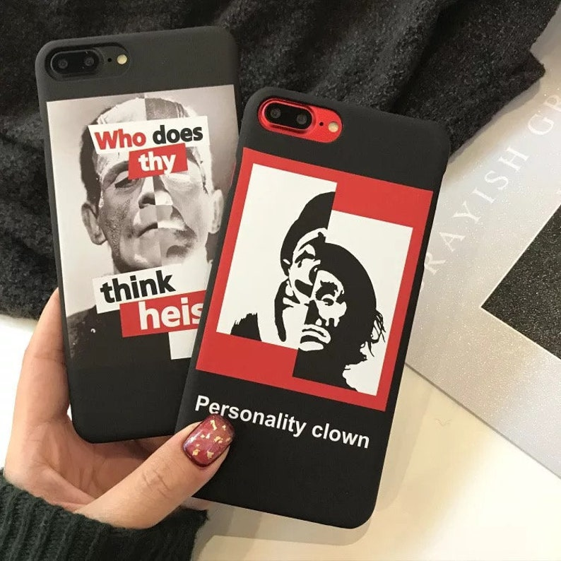 iphone66s plus Buy one get one FREE* Black and Red phone case iphone78 plus iphone78 iphone 66s iphonexxs