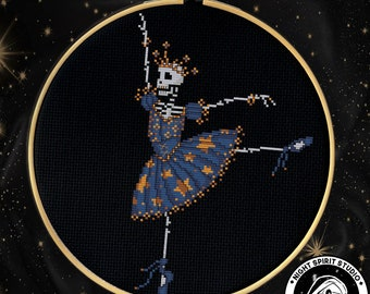 Space Station B//W Cross Stitch Chart BUY 1 GET 1 HALF PRICE