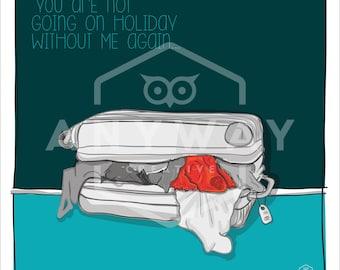Holiday - dog print