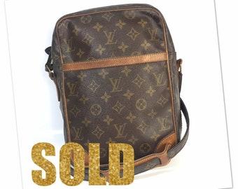 f9979d450b43 Louis Vuitton Danube monogram vintage crossbody bag