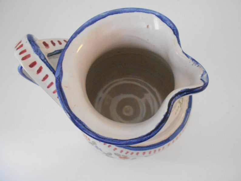 Crutchfield Studio Pottery Stoneware Plate Abstract Design Mid Century