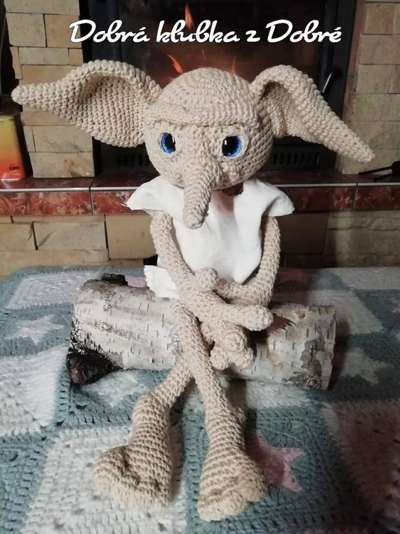 Crochet Pattern Elf  inspired DobbyAmigurumi PDF only