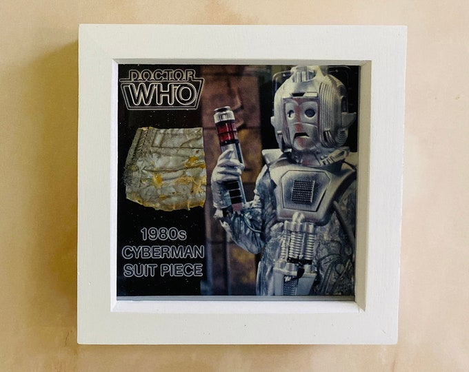 Shadow Box - Doctor Who 1980's Cyberman Costume Piece