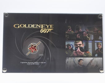 007 Goldeneye - Production Used Soldier's Cap Pin