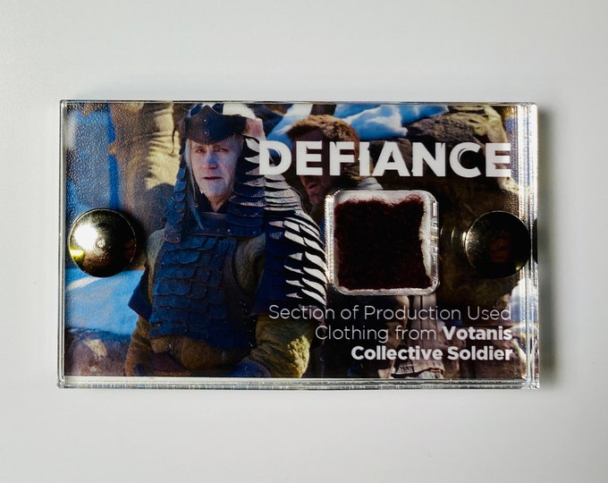 Mini Display - Defiance Votanis Collective Soldier Clothing Section