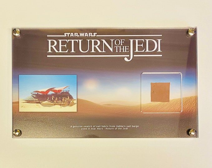 Large Display - Star Wars - Return of the Jedi, Jabbas Sailbarge sail fabric swatch