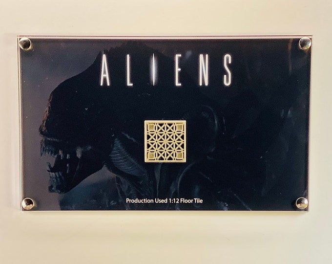 Aliens - Production Used 1:12 Miniature Floor Tile