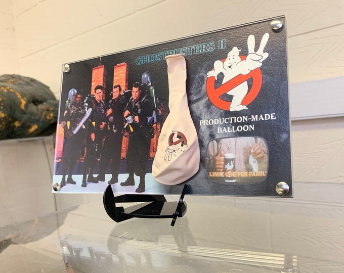 Ghostbusters 2 Production Balloon in white with logo