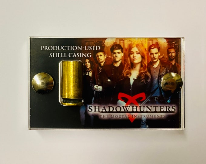 Mini Display Shadowhunters Production Used Bullet Shell Casing