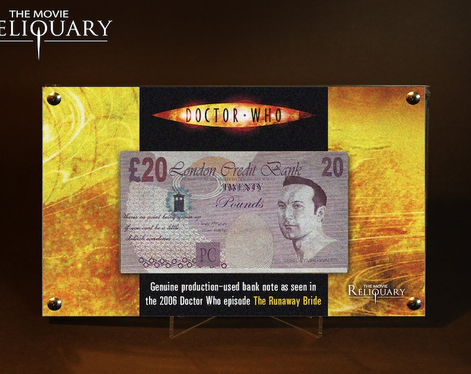 Dr Doctor Who - Production Made 20 Pound Bank Note / Money from Runaway Bride