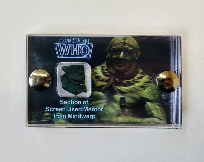 Mini Display - Doctor Who Section of Screen Used Mentor from Mindwarp