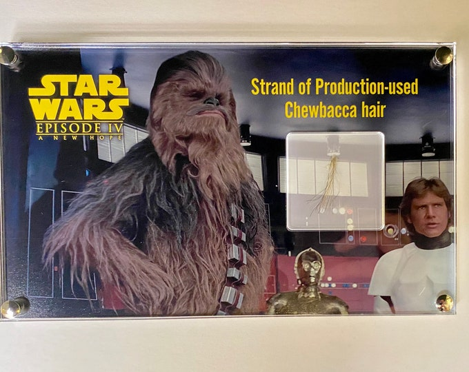 Star Wars - A New Hope - Chewbacca Hair Strand