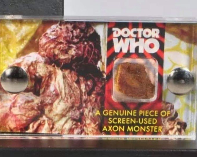 Mini Display - Doctor Who Axon Monster Piece