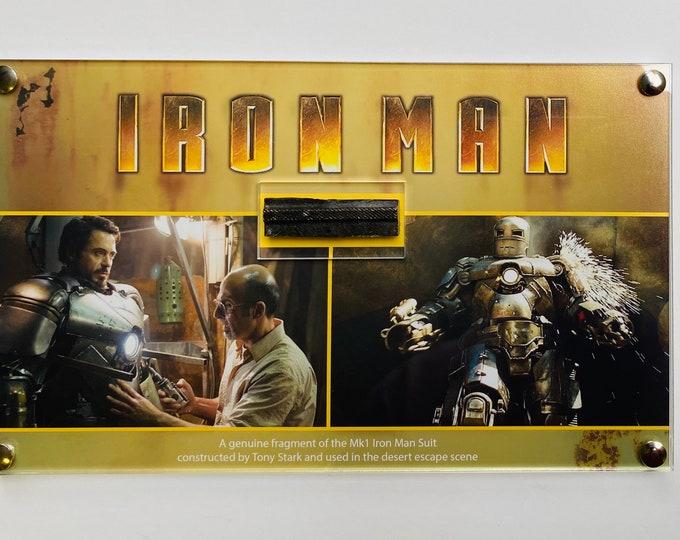Iron Man Destroyed Mk1 Suit Fragment - Large Display