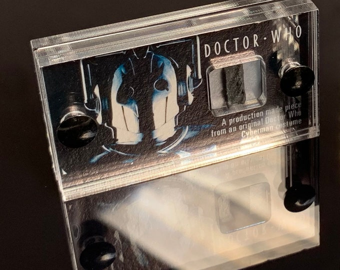 Mini Display - Doctor Who Original Cyberman Piece Design 2