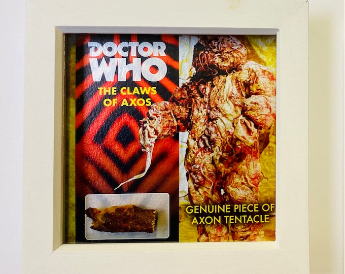 Shadow Box - Doctor Who 1971 Axon Monster from The Claws of Axos