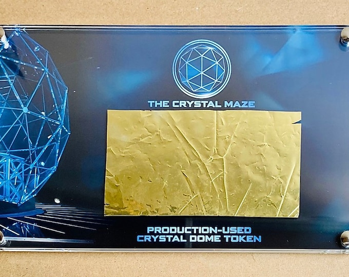 Production Used - Crystal Maze - Dome Token / Foil
