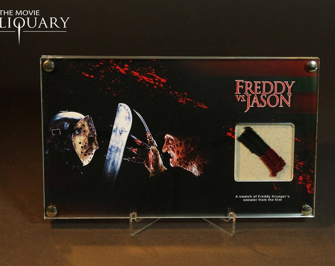 Freddie Vs Jason - Freddie Krueger sweater swatch display