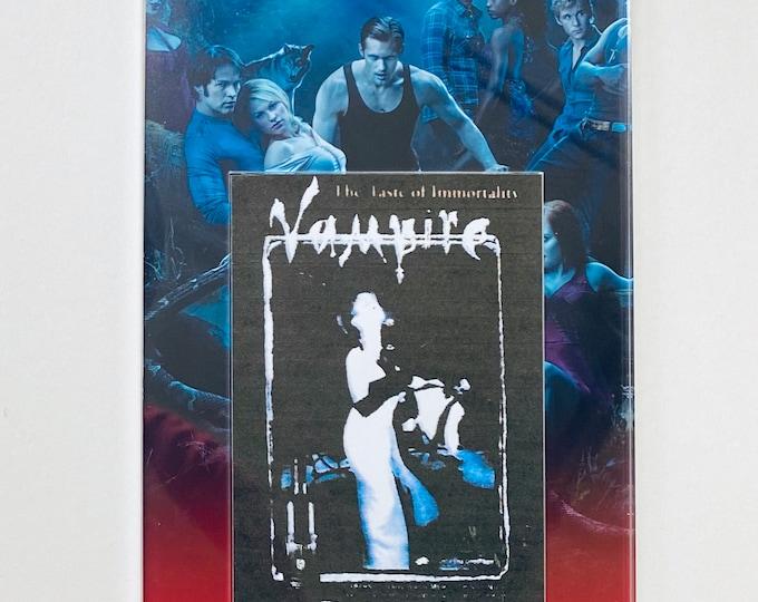 Large Display - True Blood Production Used Vampire Vineyards Flyer