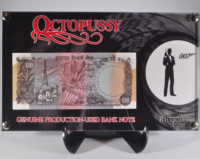 James Bond Octopussy Bank Note