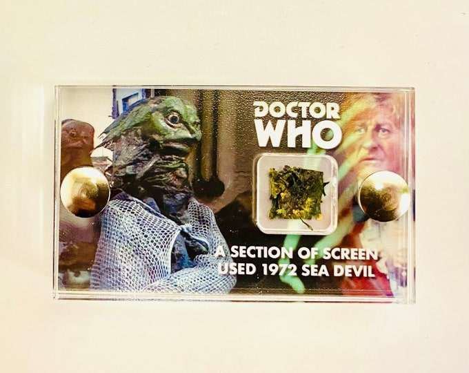 Mini Display - Doctor Who - 1972 Sea Devil Section
