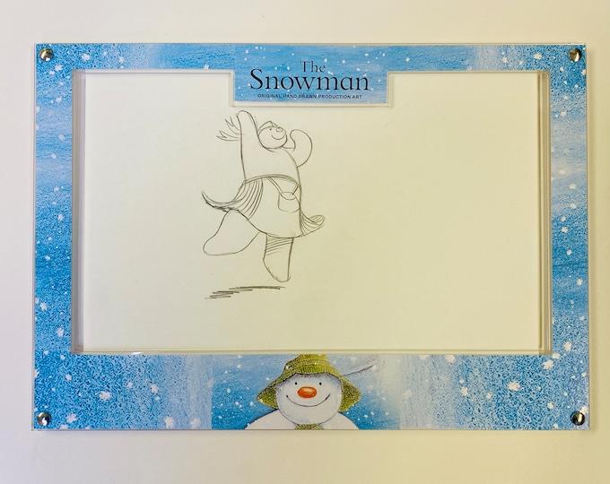 The Snowman 1982 - Original Hand Drawn Production Art