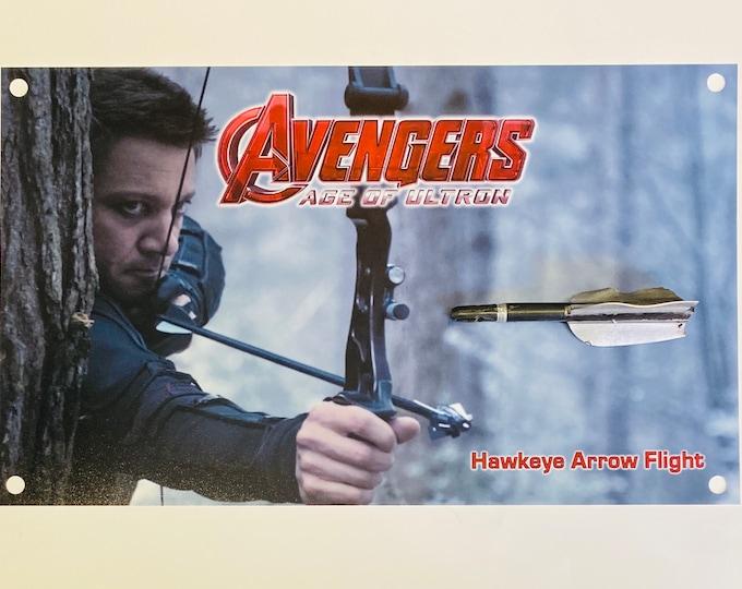 Avengers - Age of Ultron Hawkeye Arrow Flight - Production Used