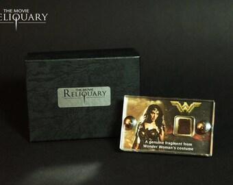 Mini Display - Wonder Woman costume fragment