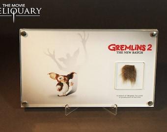 Gremlins 2 - Mogwai fur swatch display