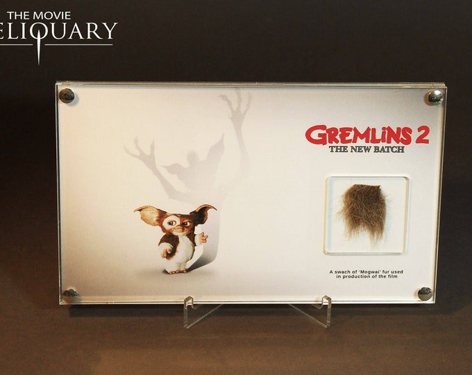 Gremlins 2 - Mogwai fur swatch display