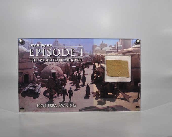 Large Display - Star Wars - Episode 1 - Mos Espa Awning Piece