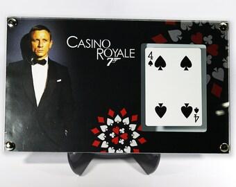 Large Display - James Bond - Casino Royale Playing Card