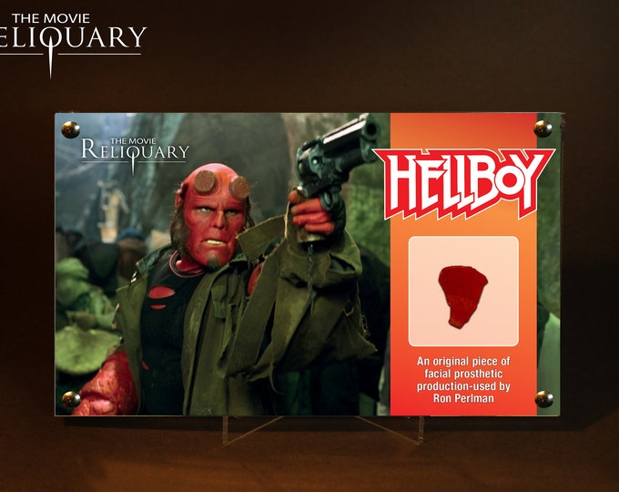 Hellboy - Ron Perlman Facial Prosthetic Piece - Red Edition