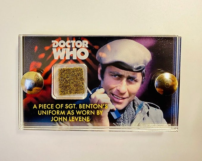 Doctor Who - SGT Benton / John Levene