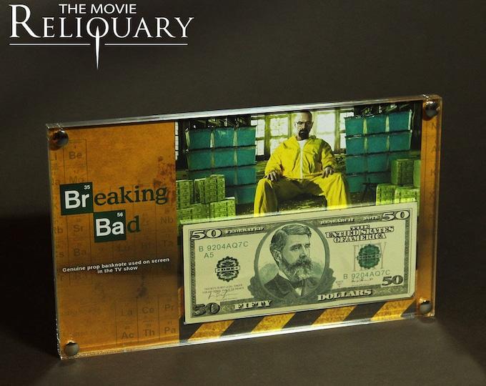 Breaking Bad - screen used bank note display