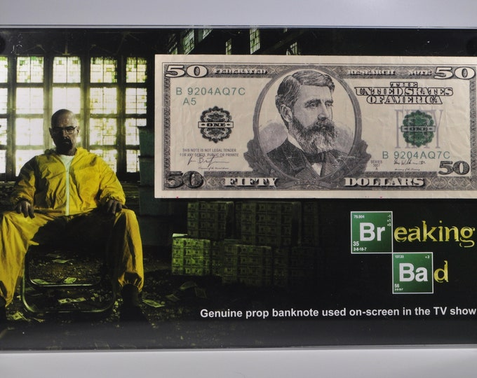 Breaking Bad - screen used bank note display