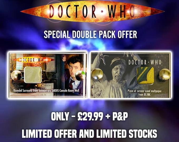 Double Pack Who Fan Offer