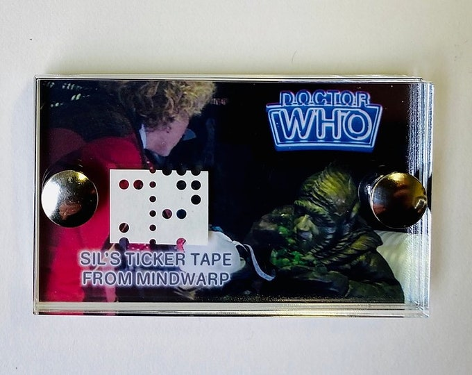 Doctor Who - Mind Warp Ticker Tape