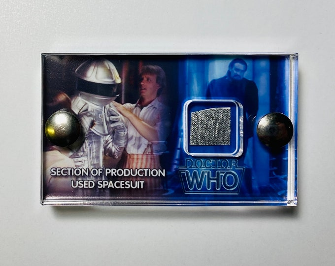 Mini Display - Doctor Who Section of Space Suit from Planet of Fire
