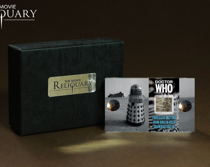 Mini Display - Doctor Who 1960's Shawcraft Dalek Fibreglassing Matting Piece