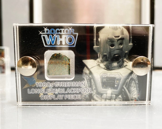 Doctor Who - Earthshock Edition 80's Cyberman Longleat / Blackpool Display Piece